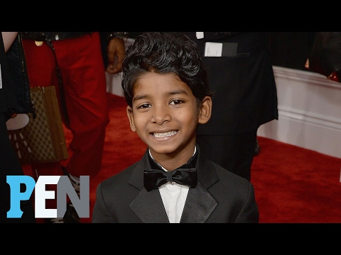 'Lion' Star Sunny Pawar Reveals His Adorable Story Behind His Grammys Shoes | PEN | People
