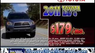 New Holland Toyota Kickoff Sales Event