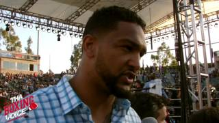 Dominic Breazeale Anthony Joshua vs Charles Martin Made Me Sick To My Stomach