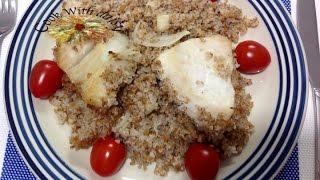 Homemade Fish Veggie bulgur Casserole