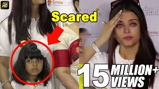 Aishwarya Rai Cries Because Aaradhya Bachchan Gets Scared By Media