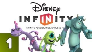 Disney Infinity: Monsters University - Part 1 (Walkthrough, Lets Play, Commentary)