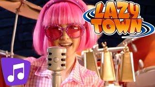 Lazy Town Deutsch | Wenn wir in einer Band spielen | Musikvideo