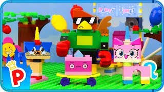 ♥ LEGO Unikitty and Prince Puppycorn Race to the UNIKINGDOM PARTY