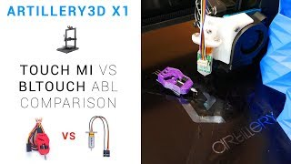Touch Mi Vs BLtouch On The Artillery3D X1 + MKS TFT Babystepping