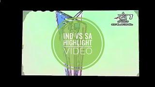 Ind vs SA highlights song video