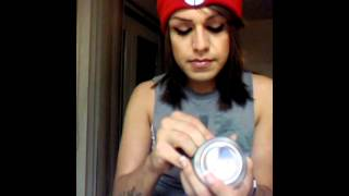 How to make a weed pipe out of a soda can!