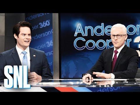 Anderson Cooper White House Turmoil Cold Open SNL