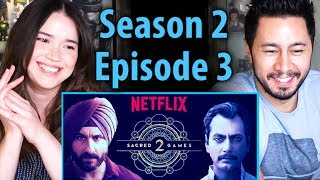 SACRED GAMES   Season 2 Episode 3   Saif Ali Khan   Nawazuddin Siddiqui   Reaction!