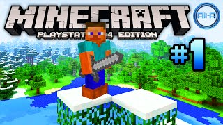 Minecraft PS4 gameplay Part 1 -