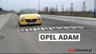 Opel Adam 1.4 100 KM, 2013 - test AutoCentrum.pl #058