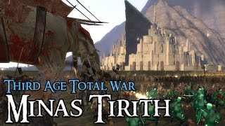 EPIC MINAS TIRITH SIEGE - Third Age: Total War