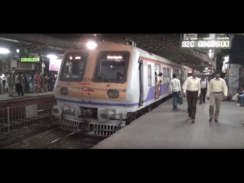 ACCELERATION PAR EXCELLENCE OF A TRAIN AT DADAR, MUMBAI !!!!
