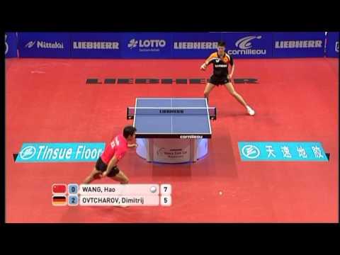 2011 World Team Cup: Wang Hao - Dimitrij Ovtcharov (full match|short form)