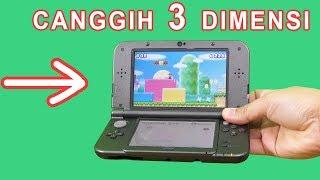 ALAT GAME UNIK NINTENDO 3DS XL, SERU DAN CANGGIH