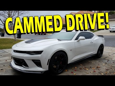 Driving a Cammed 2016/2017 Camaro SS - Drive with Lethal #27