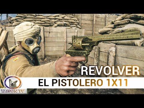 Battlefield 1 El Pistolero, en Revólver