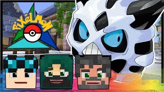 SECRET MASTER BALL LOOT CAVE + TUNDRA TOWN!! | Pokémon Trinity | Minecraft #25