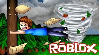 ROBLOX SURVIVING THE BIGGEST TORNADO EVER!! 🌪