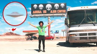 Storming Area 51 EARLY in RV - Part 1