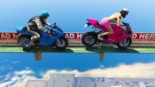 TOP HARDEST RACES IN GTA! (Sanna VS Leah)