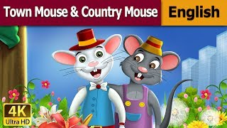 Town Mouse And The Country Mouse in English - Fairy Tales - Bedtime Stories - English Fairy Tales