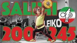 Behdad Salimi Heavy Training (200kg Snatch + 245kg Clean and Jerk) 2017 WWC [4k60]