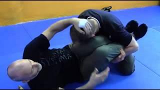 "Feral Ground Response to the ""Mermaid Wrap"" Leg Clinch"