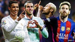 Lionel Messi & Neymar vs Ronaldo & Bale 2016 ● Skills & Goals Battle | HD