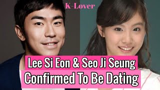 (DATING NEWS) Actor Lee Si Eon and Seo Ji Seung Confirmed To Be Dating From