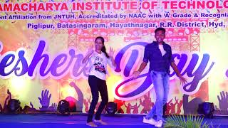 Killer dancing performance - AITS Hyderabad Freshers Day