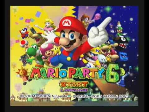 Mario Party 6 Intro Nintendo Gamecube Pal Version