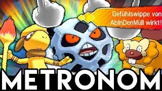 Pokémon Metronom-Battle! Alle auf +6 ?!