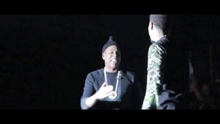JAY Z GIVES J COLE THE FAMOUS ROC CHAIN FOR HIS BIRTHDAY !
