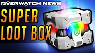 Overwatch News - SUPER LOOT BOXES Hinted by Jeff Kaplan