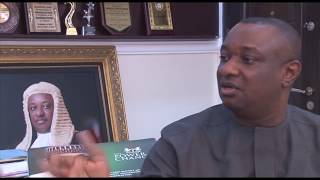 FESTUS KEYAMO (SAN) on 60 minutes with Angela