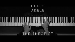 Adele - Hello | The Theorist Piano Cover (Audio Only)