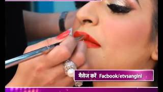Learn to party makeup step by step