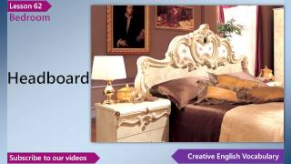 Learn English - English Vocabulary Lesson 62 - Bedroom _ Free English Lessons,..mp4