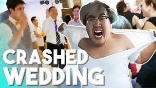 CRASHING A RANDOM WEDDING & ICE POSEIDON BEHIND THE SCENES