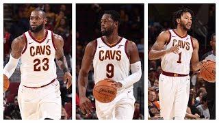 Best Of LeBron James, Dwyane Wade & Derrick Rose From The 2017 NBA Preseason