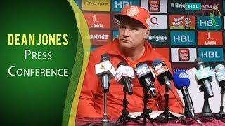 PSL 2017 Match 14: Dean Jones Press Conference