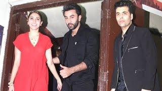 Ae Dil Hai Mushkil Movie Screening Full Video HD - Ranbir,Anushka,Karan Johar,Alia Bhatt