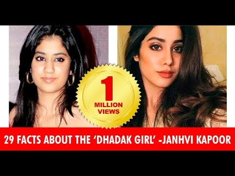 Xxx Mp4 Janhvi Kapoor 30 Facts You Must Know About The Dhadak Star 3gp Sex