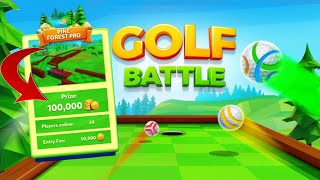Golf Battle ~ PINE FOREST PRO 3 Games (1 Million Coins Completed)