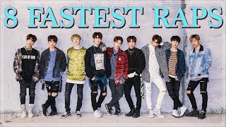 8 FASTEST STRAY KIDS RAPS