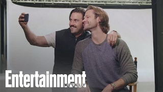 Gilmore Girls: Jared Padalecki & Milo Ventimiglia Hug It Out | Cover Shoot | Entertainment Weekly