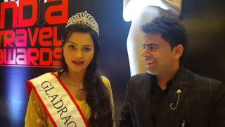 TUSHAR KUMAR - WITH Mrs INDIA 2015 Dr TANUSHREE