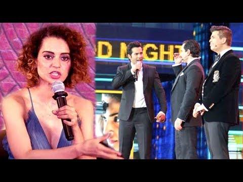 Kangana Ranaut's Reaction On Nepotism INSULT At IIFA Awards 2017 By Varun,Karan & Saif