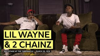 Lil Wayne Vs. 2 Chainz: All-Out Battle Or Friendly Competition? (Pt. 2)